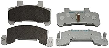 Kodiak 10 to 12 Replacement Trailer Disc Brake Pads w//Stainless Backing 1 Axle