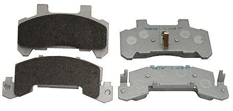 Kodiak 10'' to 12'' Replacement Trailer Disc Brake Pads w/Stainless Backing 1 Axle by Kodiak
