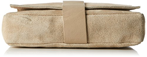 SELECTED FEMME Damen Sfnori Suede Cross Over Bag Schultertasche, Braun (Croissant), One Size