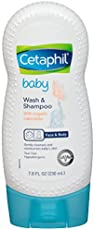 Cetaphil Baby Wash and Shampoo with Organic Calendula, 7.8 Ounce