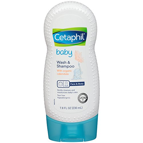 The Best Shampoo for Sensitive Scalp - Cetaphil Baby Wash and Shampoo with Organic Calendula Review