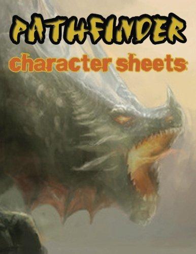 character sheets - 6