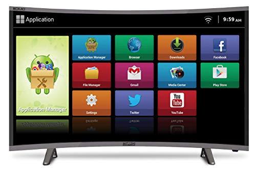 Mitashi MiCE043V30 FS Full HD Smart Curved LED TV