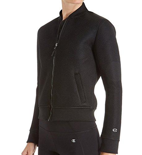 Veste Neoprene Fashion Champion Femme Bomber Noir Jacket RvXqSFxq