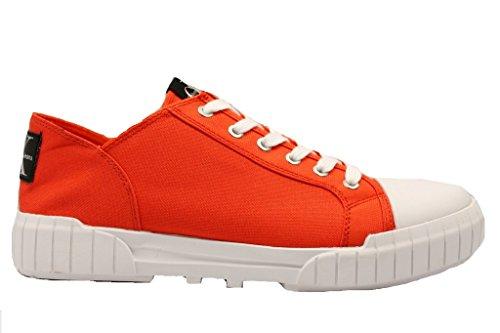 Calvin Klein Biff Nylon, Scarpe da Ginnastica Basse Uomo arancio
