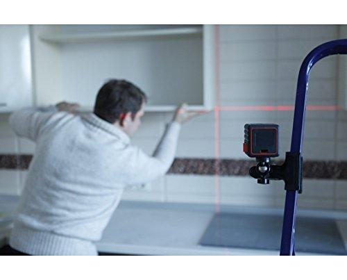 AdirPro Cube Cross Line Laser Level Home, Red/Black by AdirPro (Image #8)