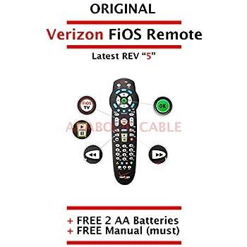 Amazon. Com: original verizon fios remote control + free batteries.