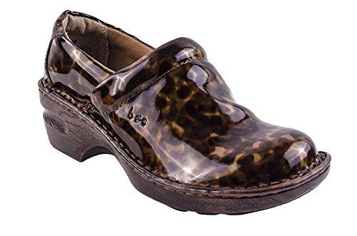 Born Brown Clogs (Born Womens Margaret Closed Toe Clogs, Tan, Size 6.0)