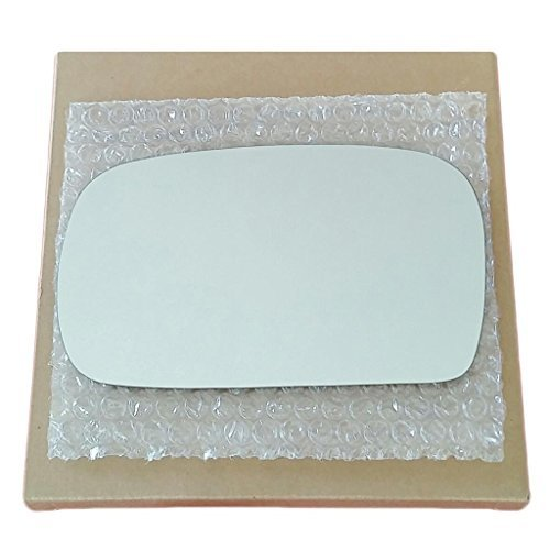 (Mirror Glass and Adhesive   95-02 Kia Sportage Driver Left Side Replacement)