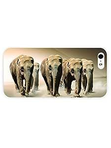 3d Full Wrap Case for iPhone 5/5s Animal Elephants48