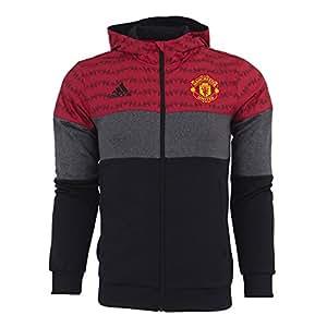 Adidas Manchester United FC Full Zip Fleece-SCARLE (M)