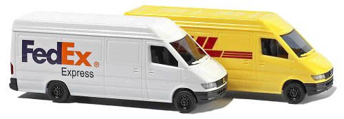 Busch 8304 MB Sprinter FedEx/DHL 2/N Scale Vehicle for sale  Delivered anywhere in USA