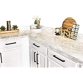 Countertop Transformation Marble White Grey Faux Marble