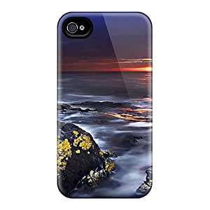 (PaH10858aakn)durable Protection Case Cover For Iphone 4/4s(vanishing Sunset)