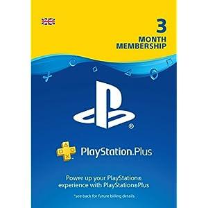 PlayStation Plus: 3 Month Membership | PS5/PS4/PS3 | PSN Download Code – UK account