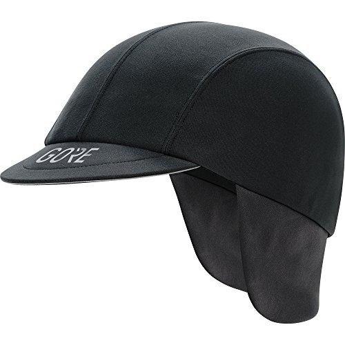 GORE WEAR Men's Windproof Cycling Cap, C5 Windstopper Road Cap, Size: ONE, Color: Black, 100390