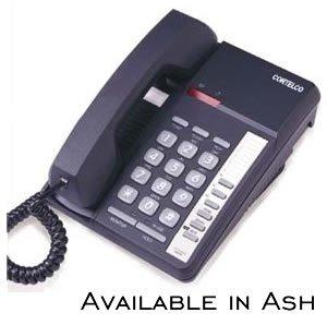 Telephone Corded Centurion (Cortelco Kellogg Centurion Extended Basic Desk/Wall Mount Phone Ash)