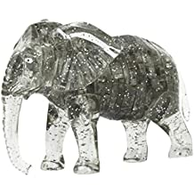 Fiaya 3D Cute Elephant Crystal Puzzle Model DIY Gadget Building Blocks Toy Hot