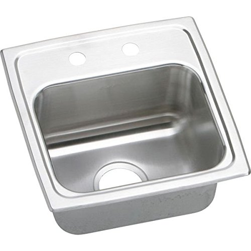 "Sink, 15"" x 15"" x 7.125"", Stainless Steel - Elkay BLR1516MR2"