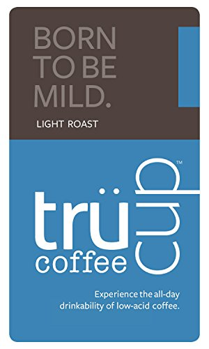 Trücup coffee low-acid - Born to Be Mild, Light Roast - French Press Grind, 12 oz. Bag