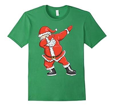 Dabbing Santa T-Shirt - Funny Santa Claus Christmas Tshirt
