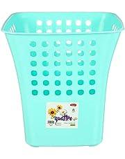 Winner Plast Plastic Trash Bin, Turquoise