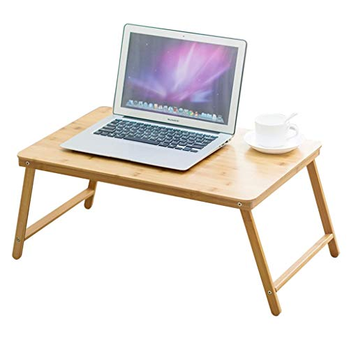 COMPU Laptop Desk Tray,Computer, Notebook, Book Holder & Stand, Breakfast Serving Bed Tray, Adjustable & Foldable with Flip Top and Drawer