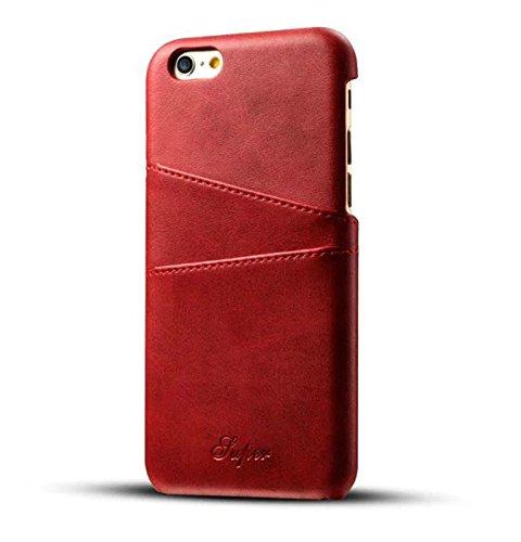 iPhone 6 Plus Card Case, Fashioneey Minimalist Vintage Sy...