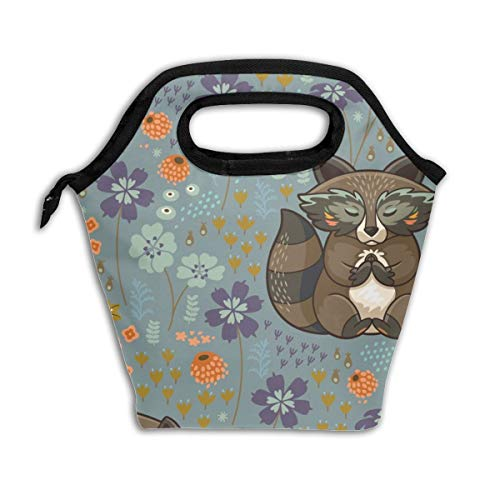 Free U002Wild Big Scale_2342 Lunch Bag Insulated Lunch Box Reusable Lunch Tote Cooler Organizer Bag Lunch Bags for Women,Men and Kids Adults ()