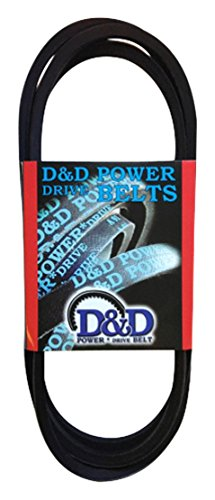Rubber 162 Length C D/&D PowerDrive 107086 Dodge Replacement Belt 1 -Band