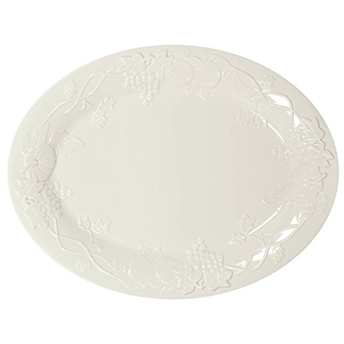 White Molded Turkey Platter (Turkey Platter)