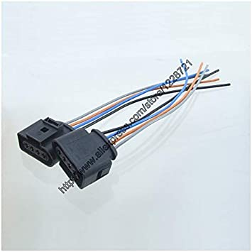 Amazon.com: Davitu 2Pcs 1J0973724 4Pin Car Repair Kit ... on ignition coil power supply, ignition coil cover, ignition coil tachometer, ignition coil engine, ignition system wiring diagram, ignition coil control module, ignition coil transformer, ignition switch harness, ignition coil resistor, ignition coil spark plug, ignition coil bracket, ignition coil sensor, ignition wire, ignition coil pack harness, ignition harness 03 mazda 6, ignition switch wiring, ignition coil gauge, ignition control module wiring diagram, ford ignition coil harness, ignition coil cables,