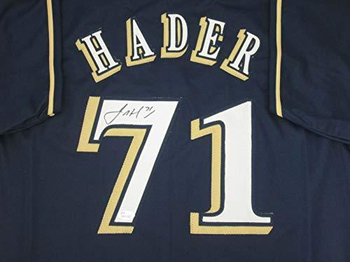 - Josh Hader Autographed Milwaukee Brewers Jersey