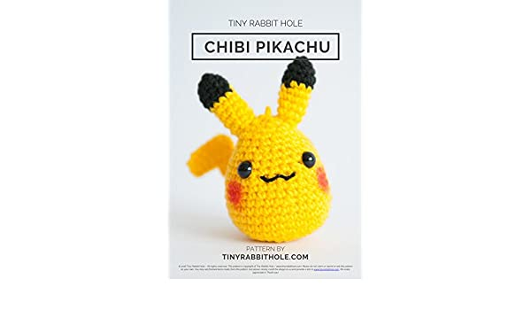 Eva Channel | Pikachu Amigurumi Crochet Tutorial - YouTube | 350x600