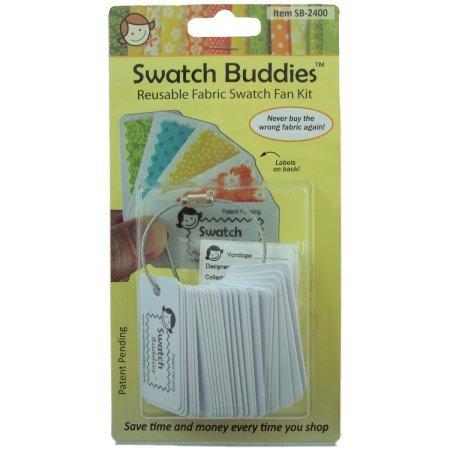 Price comparison product image Swatch Buddies Fabric Fan 24 / Pkg