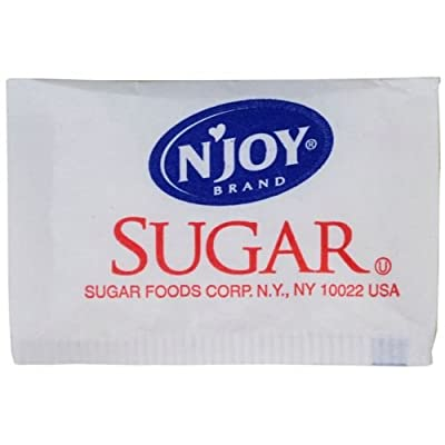 Natural Joy Sugar, .1 Ounce -- 2000 Packet