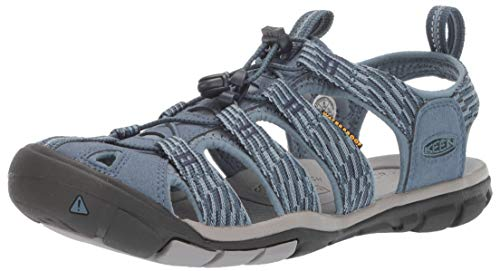 Keen Women's Clearwater CNX Water Shoe, Blue Mirage/Citadel, 11 M US