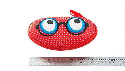 ZIPIT Beast Box Glasses Case, Red Photo #2