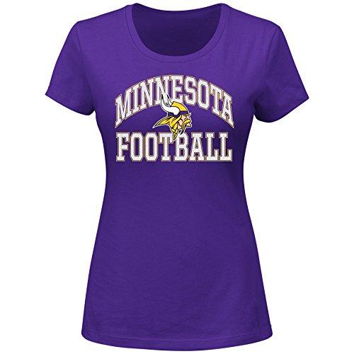 NFL Minnesota Vikings Unisex Short Sleeved Scoop Neck