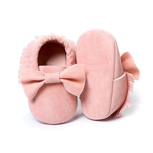 ESHOO bebé infantil unisex suave Sole Cuna zapatos de bebé Zapatillas zapatos de bebé E Talla:12-18 meses K