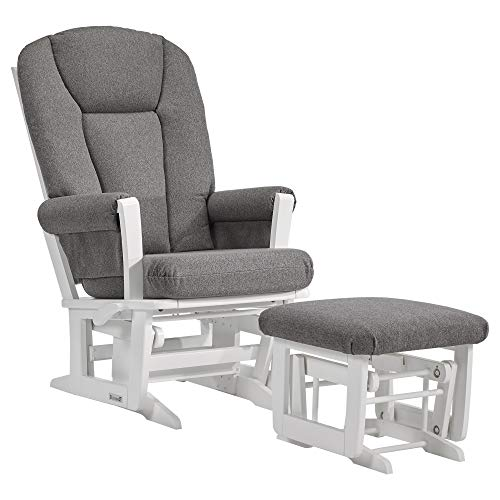 (Dutailier Modern 0388 Glider Multiposition-Lock Recline with Ottoman Included )