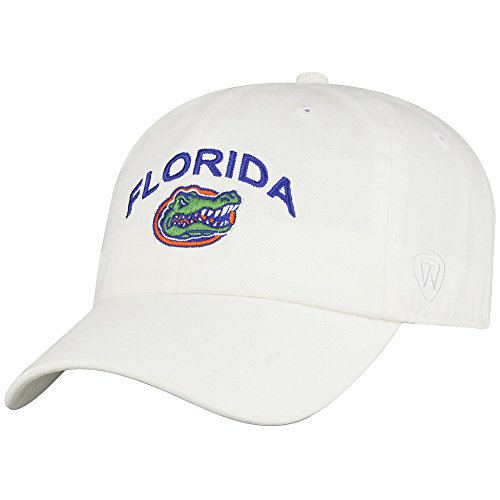 Elite Fan Shop Florida Gators Hat Arch Logo White