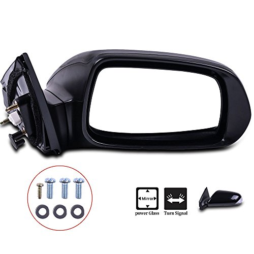 SCITOO Passenger Right Door Mirror fit 2005-2010 Scion tC Base Coupe Signal Power Adjusted Manual Folding Side Tow ()