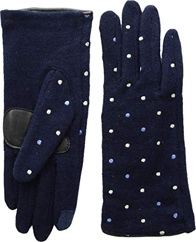 - Echo Design Women's Dot Dot Gloves Echo Navy LG