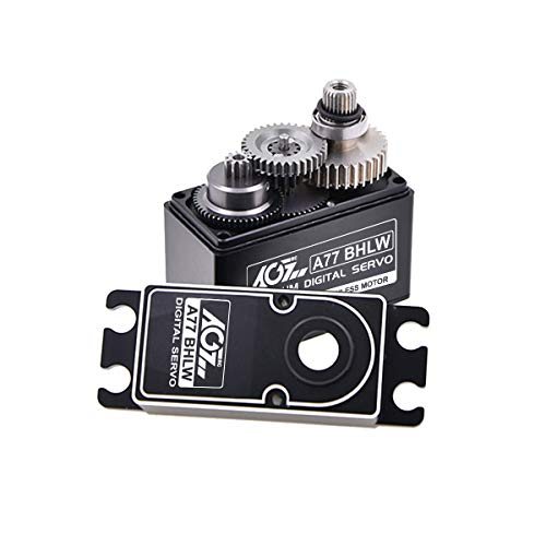 Servo Digital Surface (AGFrc Waterproof Servo - Patent Gear Digital High Torque Brushless Servo Motor for 1/10 1/8 RC Models)