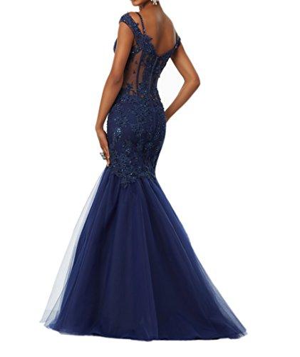 Abendkleider Jugendweihe Royal Festlichkleider 2018 Meerjungfrau Neu Kleider Lang La Promkleider Blau Braut Pailletten Kleider mia cgqOyZI