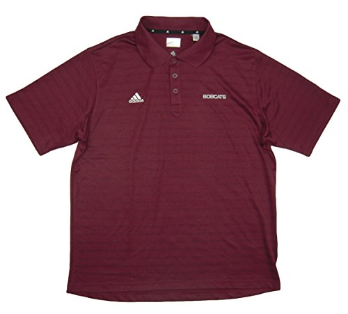 - Charlotte Bobcats Team Issued adidas Polo Shirt Size XLT - Burgundy