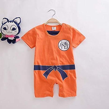 Lightsalt Dragon Ball Peleles bebé recién Nacido Ropa de niños Son Goku niño Mono Bebes d: Amazon.es: Productos para mascotas