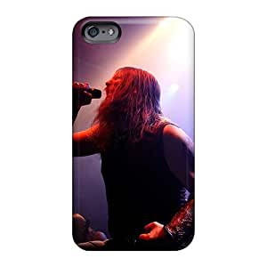 Iphone 6plus Case Cover - Slim Fit Tpu Protector Shock Absorbent Case (amon Amarth Band)