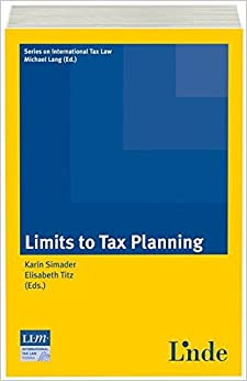 Book Limits to Tax Planning